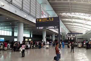 広州白云空港 バゲージクレーム