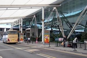 広州空港リムジンバス乗り場